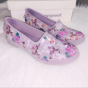 Cougar Ruby Blossom Rain Shoe